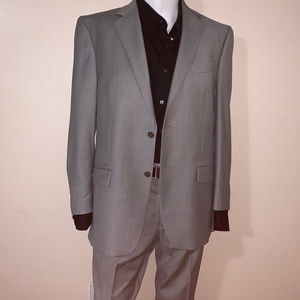 CALVIN KLEIN 2PC GREY SUIT